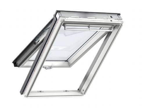 VELUX White-painted top-hung roof window
